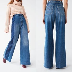 BDG Urban Outfitters High Rise Wide Leg Jeans